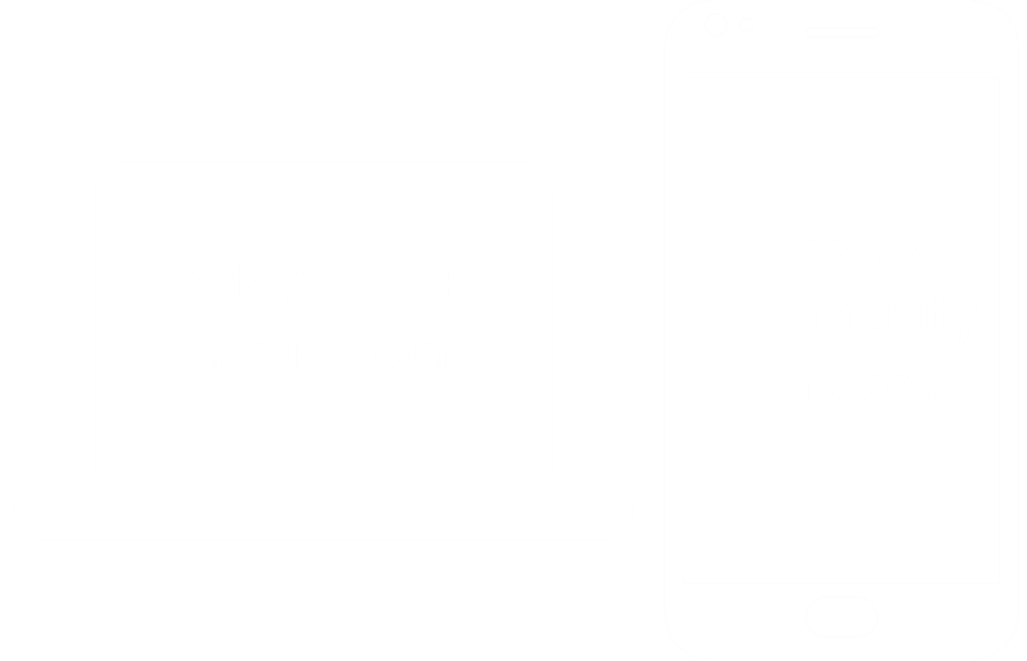 Practice website icon - Ask GP a question